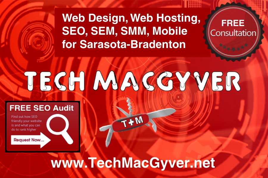 SEO - Search Engine Optimization for the Sarasota and Bradenton Area - Tech MacGyver
