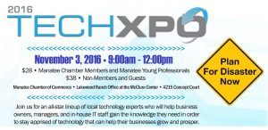 Manatee Chamber of Commerce TechXpo - Disaster Recovery & Planning