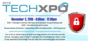 Manatee Chamber of Commerce TechXpo - Cybersecurity (Computer Security)